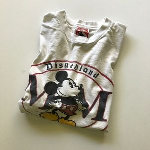 Disney Shirts - Vintage Mickey Mouse DisneyLand MM T-Shirt 1990s